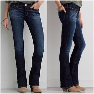 American Eagle Slim Boot Dark Wash Jeans